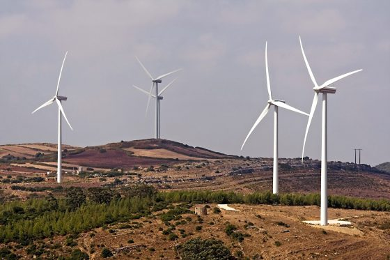 Several,Windmills,In,The,Countryside