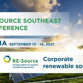 Проведе се първата регионална конференция RE-Source Southeast за снабдяване с възобновяема енергия